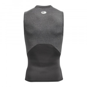 UA HeatGearTM Compression Sleeveless Shirt ''Grey''