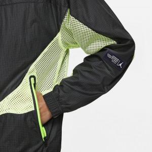 Air Jordan 23 Engineered Track Jacket ''Black/Electric Green''