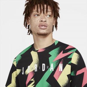 Air Jordan Jumpman Air Print T-Shirt ''Sunset Pulse''