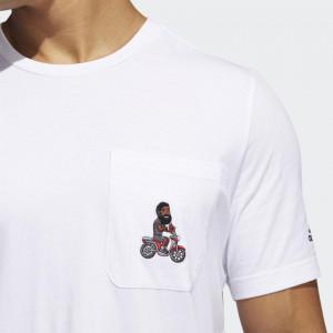 adidas Harden Avatar Pocket T-Shirt ''White''