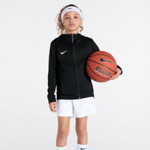Nike Team Basketball Kids Full-Zip Hoodie ''Black''