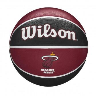 Wilson NBA Miami Heat Team Tribute Outdoor Basketball (7)