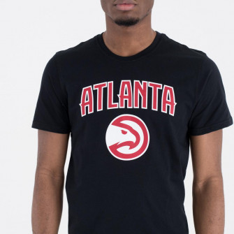 New Era NBA Atlanta Hawks Team Logo T-Shirt ''Black''