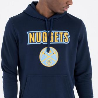New Era Denver Nuggets Team Logo Hoodie ''Blue''