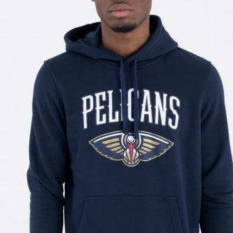 New Era New Orleans Pelicans Team Logo Hoodie ''Navy''
