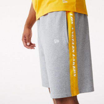 New Era NBA LA Lakers Side Panel Shorts ''Grey''