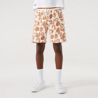 New Era MLB NY Yankees Floral Print Shorts ''White/Brown''