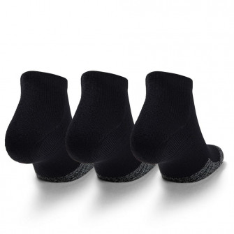 Under Armour HeatGear Low Cut Crew 3-Pack Socks ''Black''