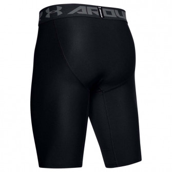 UA HeatGear Extra Long Compression Shorts ''Black''
