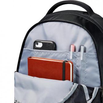UA Hustle 5.0 Backpack ''Black/Metallic Gold''