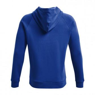UA Rival Logo Fleece Hoodie ''Blue''