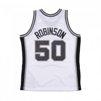 M&N Swingman San Antonio Spurs 1998-99 David Robinson Jersey ''White''