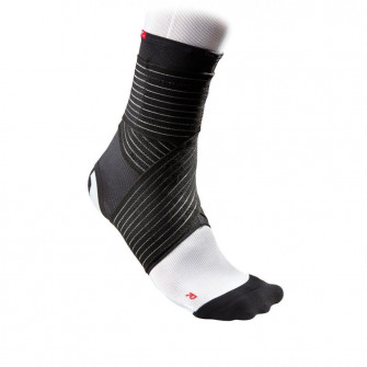McDavid Ankle Support Mesh With Straps ''Black''