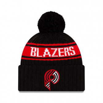 New Era NBA 2021 Draft Portland Trailblazers Cuff Beanie ''Black/Red''