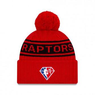 New Era NBA 2021 Draft Toronto Raptors Cuff Beanie ''Red''