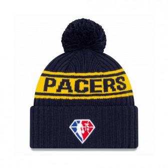 New Era NBA 2021 Draft Indiana Pacers Cuff Beanie ''Navy Blue/Yellow''
