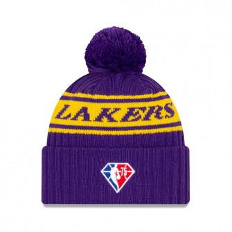 New Era NBA 2021 Draft Los Angeles Lakers Cuff Beanie ''Purple/Yellow''