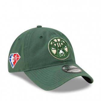 New Era NBA 2021 Milwaukee Bucks 9Twenty Cap ''Green''