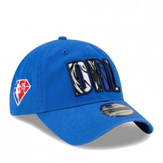 New Era NBA 2021 Draft Dallas Mavericks 9Twenty Cap ''Blue''