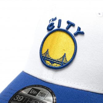 New Era NBA GS Warriors HWC Nights 39Thirty Cap ''White/Blue''