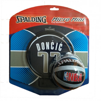 Spaldnig NBA Luka Dončič 77 Dallas Mini Basketball Board