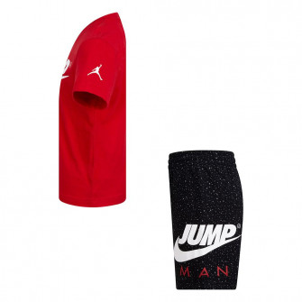 Air Jordan Jumpman 2-Piece Kids Set ''Red/Black''
