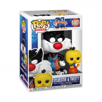 Funko POP! Space Jam A New Legacy Sylvester & Tweety Figure