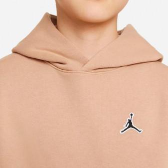 Air Jordan Jumpman Fleece Kids Hoodie ''Beige''