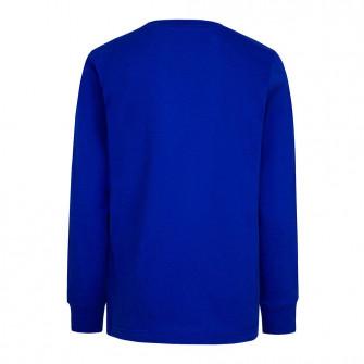 Air Jordan Flight Logo Longsleeve Kids Shirt ''Blue''