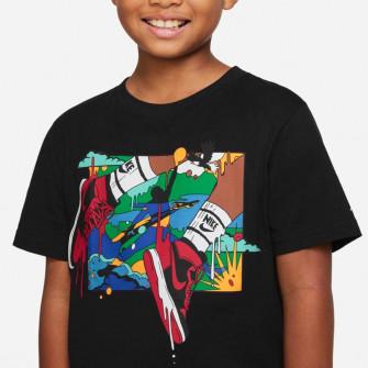 Air Jordan Wild Utility Patch Kids T-Shirt ''Black''