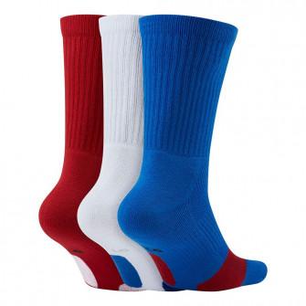 Nike Everyday Crew Socks 3-Pack ''Red/White/Blue''