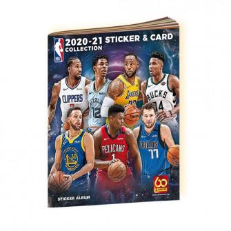 Panini NBA Sticker & Card 2020-21 Collection Album