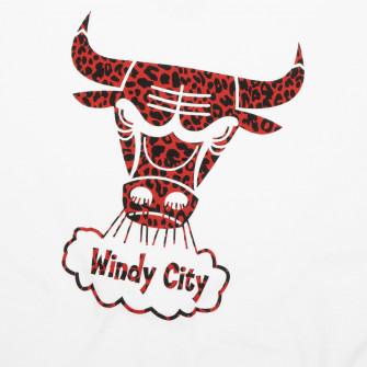 M&N Wild Life Chicago Bulls T-Shirt ''White''