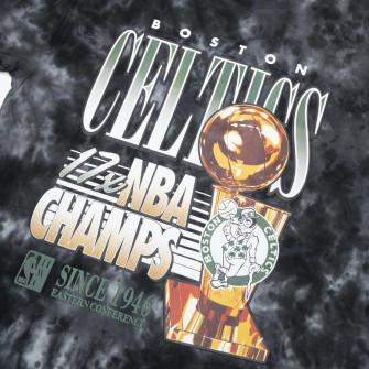 M&N Tie-Dye Champions Boston Celtics T-Shirt ''Black''