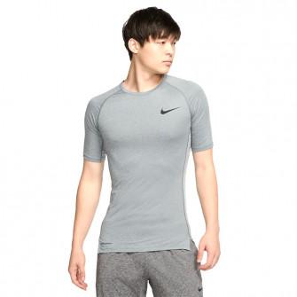 Nike Pro Short-Sleeve Top ''Smoke Grey''