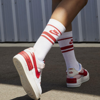Nike Air Force 1 Shadow WMNS ''Summit White/Gym Red''