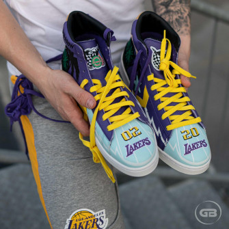 Converse Pro Leather NBA Chinatown Market x Jeff Hamilton ''Lakers''