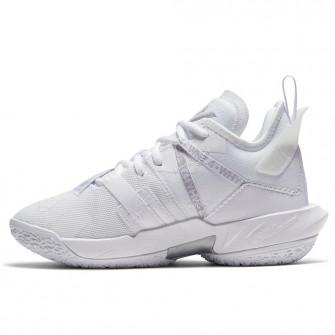 Air Jordan Why Not Zer0.4 ''Triple White'' (GS)