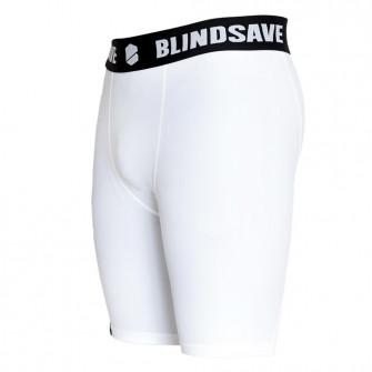 Blindsave Compression Shorts ''White''