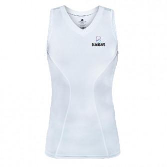Blindsave Compression Sleevless Shirt ''White''