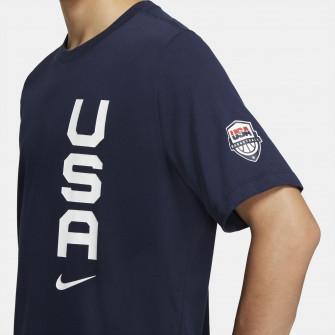 Nike Dri-FIT Team USAB T-Shirt ''Obsidian''