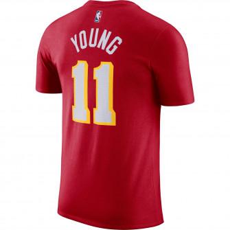Nike NBA Trae Young Atlanta Hawks T-Shirt ''University Red''