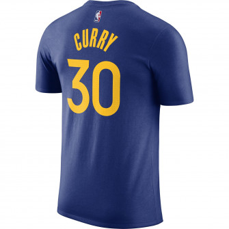 Nike NBA Stephen Curry Golden State Warriors T-Shirt ''Rush Blue''