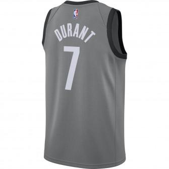 Air Jordan NBA Kevin Durant Nets Statement Edition 2020 Swingman Jersey ''Dark Steel Grey''