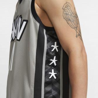 Air Jordan NBA Kyrie Irving Nets Statement Edition 2020 Swingman Jersey ''Dark Steel Grey''