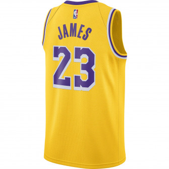 Nike NBA Lebron James Lakers Icon Edition 2020 Swingman Jersey ''Yellow''