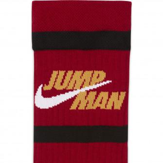 Air Jordan Legacy Crew Socks ''Gym Red/Pollen''
