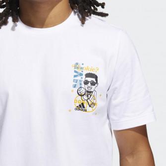 adidas Donovan Mitchell Avatar Rookie T-Shirt ''White''