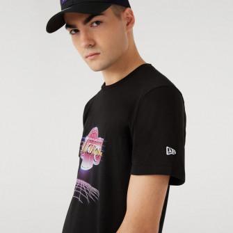 New Era NBA LA Lakers Futuristic Graphic T-Shirt ''Black''