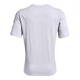 UA Embiid Logo T-Shirt ''Light Gray''